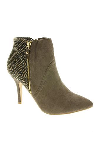 sinly shoes chaussures femme de couleur beige