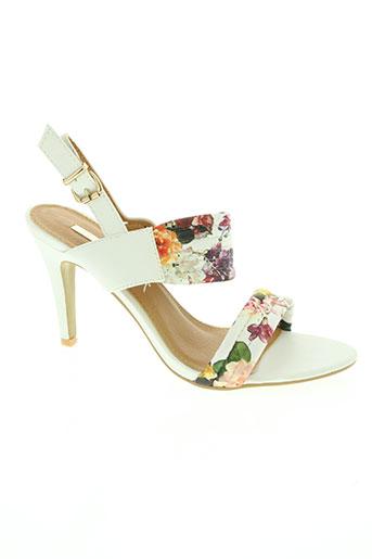 bellucci chaussures femme de couleur blanc