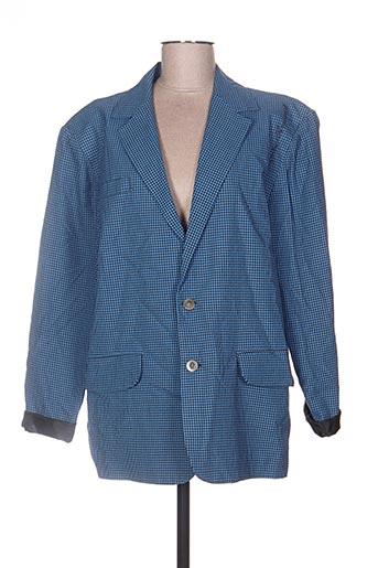marie françoise arnaud vestes femme de couleur bleu