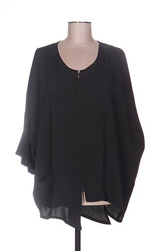 niederberger vestes femme de couleur noir