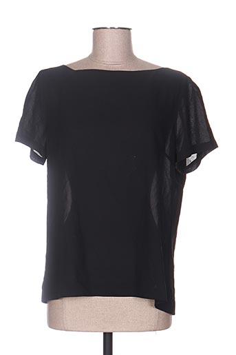 holly & joey chemises femme de couleur noir