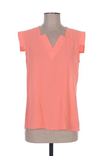 sweed paris chemises femme de couleur orange