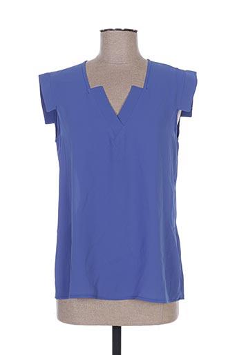 sweed paris chemises femme de couleur bleu