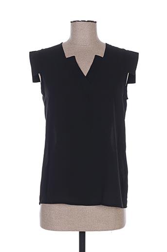 sweed paris chemises femme de couleur noir