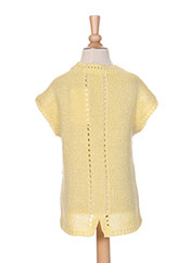 Pull col rond jaune MAYORAL pour fille seconde vue