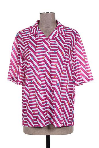 vitos chemises femme de couleur rose