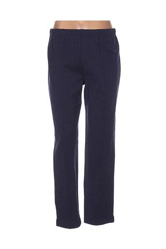 jean desses pantalons femme de couleur bleu