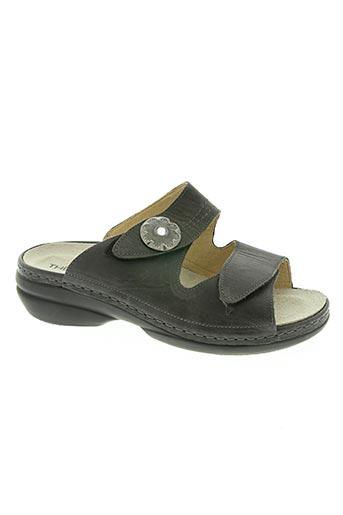 theresia m. chaussures femme de couleur gris