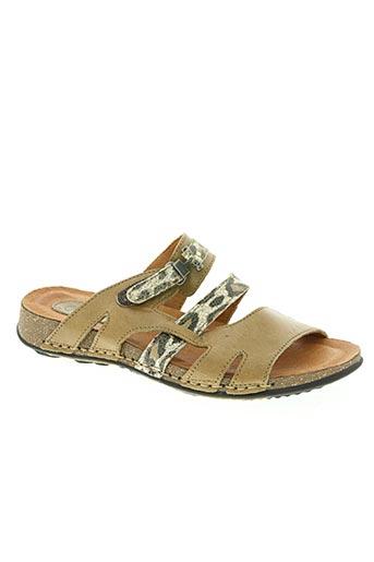 adour chaussures femme de couleur marron