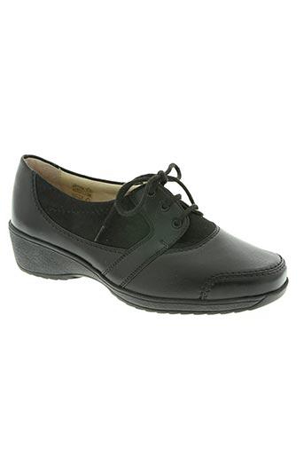 goldkrone chaussures femme de couleur noir