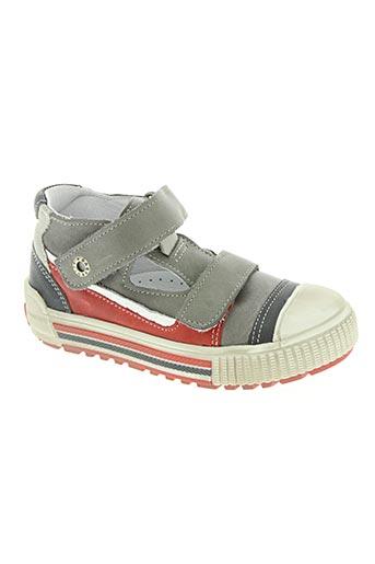 babybotte chaussures garçon de couleur gris