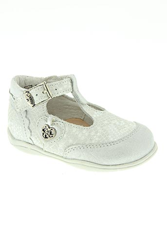 little mary chaussures fille de couleur blanc