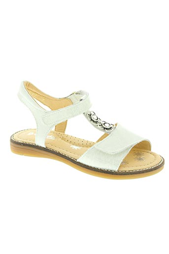 babybotte chaussures fille de couleur blanc