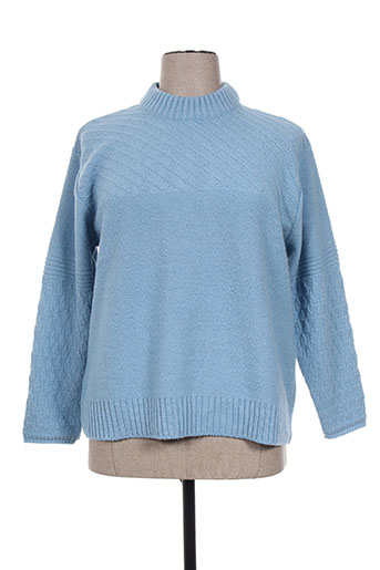eleane pulls femme de couleur bleu
