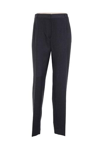 Pantalon chic gris ELSSA pour femme