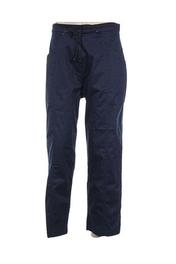 Pantalon casual bleu CLOUD'S pour femme