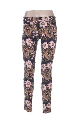 Jeans skinny rose SCOTCH & SODA pour femme