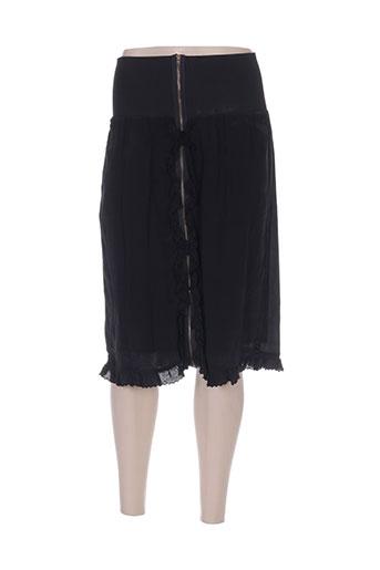 Jupe mi-longue noir SCOTCH & SODA pour femme
