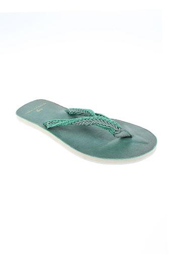 scotch & soda chaussures homme de couleur vert