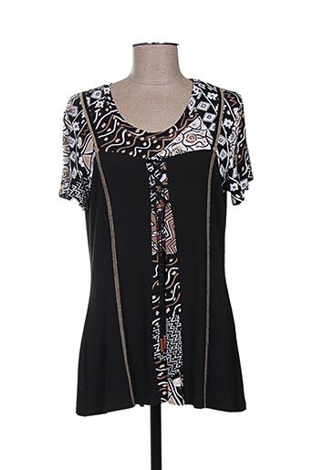 sarah luna t-shirts femme de couleur noir