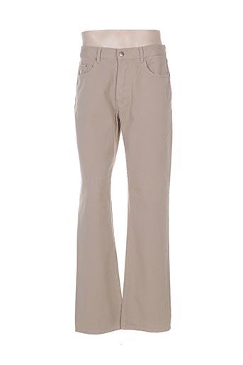 gallice jeans homme de couleur beige