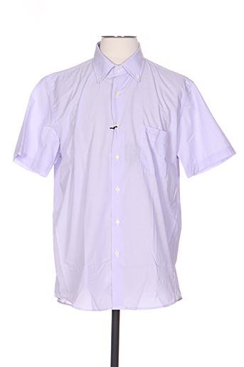dario beltran chemises homme de couleur violet