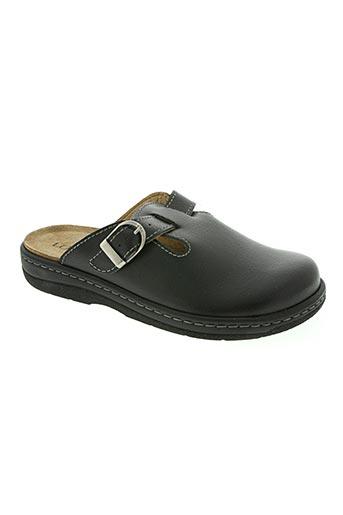 longo chaussures homme de couleur noir
