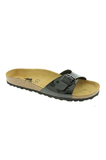 longo chaussures femme de couleur noir