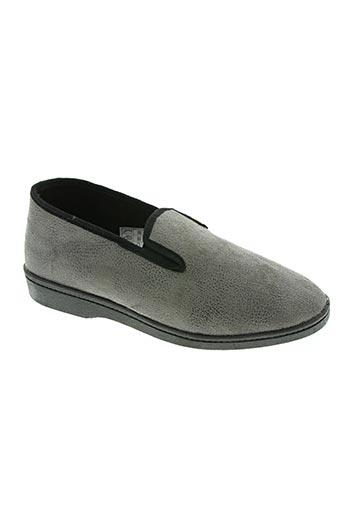 monchausson chaussures homme de couleur gris
