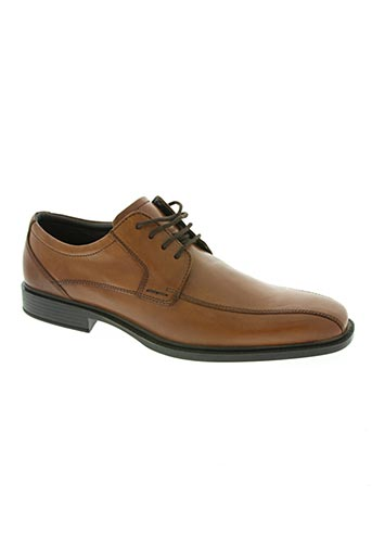 longo chaussures homme de couleur marron