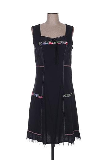 sarah luna robes femme de couleur noir
