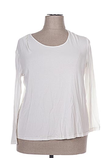 T-shirt manches longues blanc APRICO pour femme