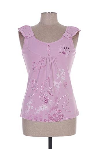 front de mer chemises femme de couleur violet