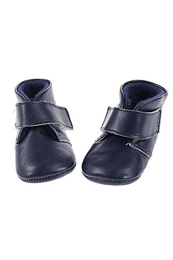 cuquito chaussures garçon de couleur bleu