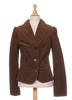 Veste casual marron JEAN BOURGET pour fille