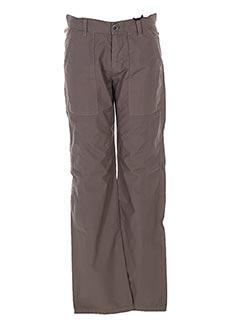 Pantalon casual marron IKKS pour garçon
