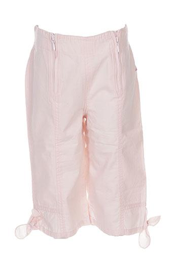 jean bourget shorts / bermudas fille de couleur rose