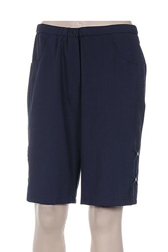 france rivoire shorts / bermudas femme de couleur bleu