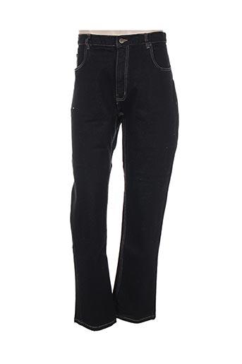 pierre d'arlanc jeans homme de couleur noir