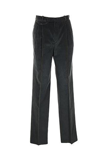 luc saint alban pantalons homme de couleur vert