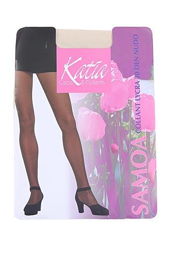 katia lingerie femme de couleur beige