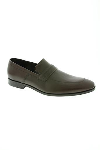 hugo boss chaussures homme de couleur marron