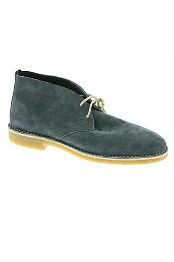 tommy hilfiger chaussures homme de couleur bleu