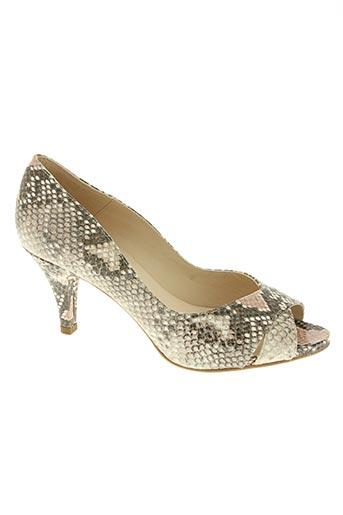 unisa chaussures femme de couleur beige