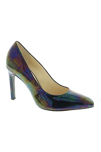 hogl chaussures femme de couleur bleu
