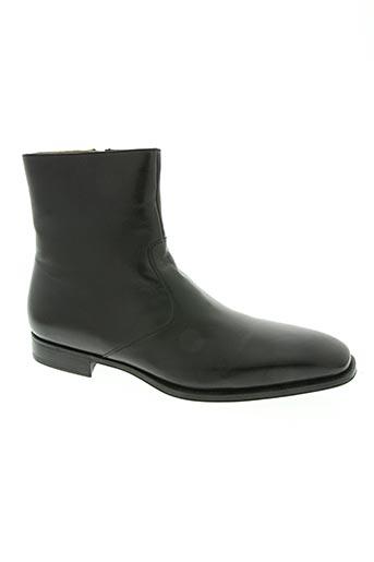 magnanni chaussures homme de couleur noir