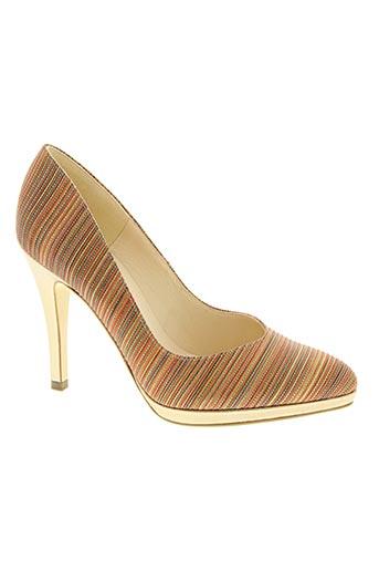 peter kaiser chaussures femme de couleur orange