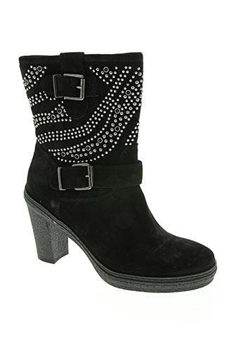 igi & co chaussures femme de couleur noir