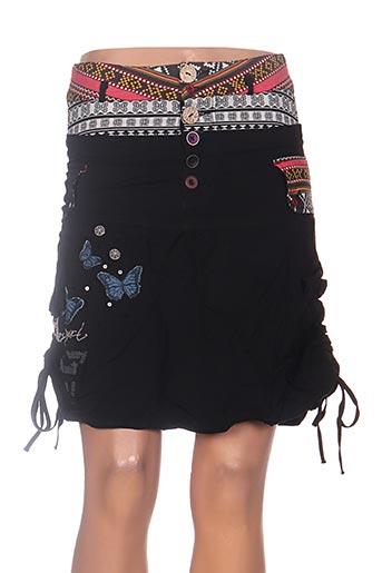 desigual jupes femme de couleur noir