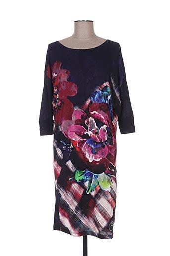 Robe courte violet DESIGUAL pour femme